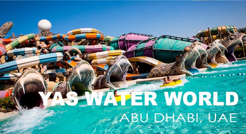 YAS Waterworld Tour - Kabayan Southtravels +1 905 789 8333