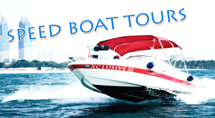 Speedboat Tour - Kabayan Southtravels +1 905 789 8333